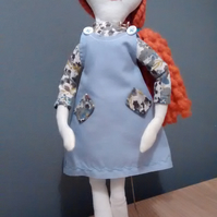 Handmade Upcycled Heirloom Doll One Of A Kind