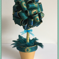 Ribbon Topiary Tree