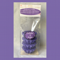 Aromatic Floral Fragrance of Lavender & Amber Soy Wax Melts