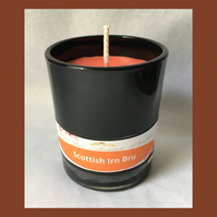 Refreshing Fragrance of Scottish Irn Bru 9cl Soy Glass Votive