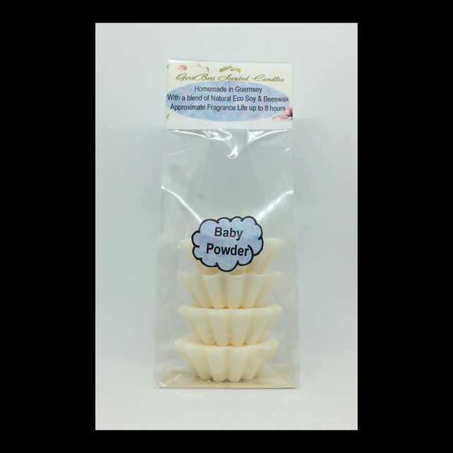 Baby Powder Scented Soy Wax Melts - Free UK Shipping