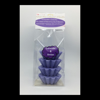 Lavender & Amber Scented Soy Wax Melts - Free UK Shipping