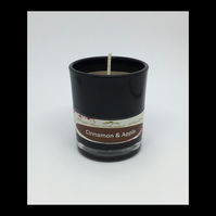 Cinnamon & Apple Scented Soy Votive - Free UK Shipping