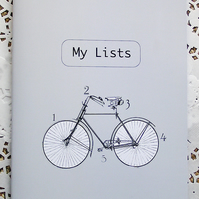 My Lists Notebook - Grey