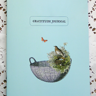 Gratitude Journal -Blue-