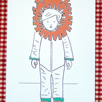 Postcard - Being Lion 2