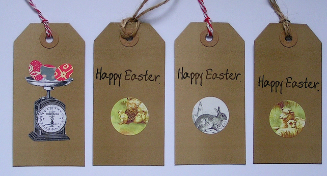 Hand Made Easter Gift Tags