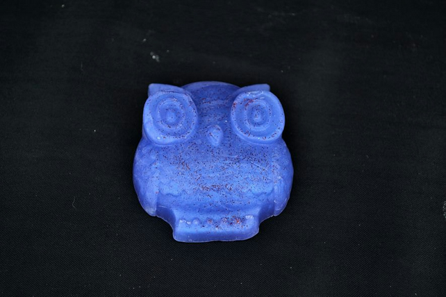 Parma Violet Soap in an Owl Shape, Parma Violets Soap