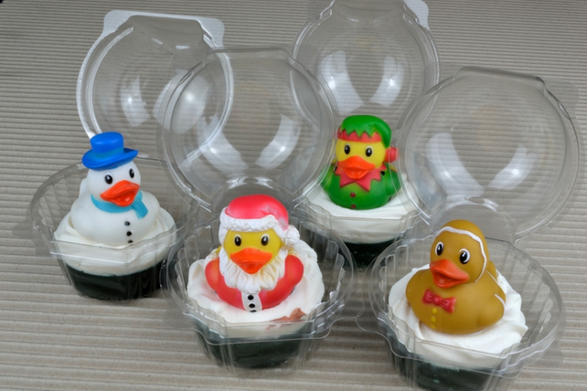 Peppermint Rubber Ducky Soap Gift