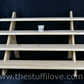 4 Tier Wide Wooden Collapsible Craft Display Stand (75cm wide).