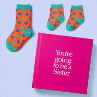 You're Going to be a Sister 12 page hard back book with special gift inside