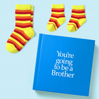 You're Going to be a Brother 12 page hard back book with special gift inside