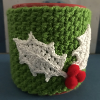 Red Holly Berry Mug Cosy