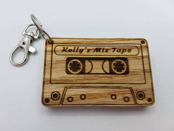 Mix Tape keychain