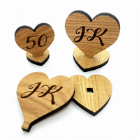 Wedding table number, wooden table numbers, rustic table numbers, unfinished woo