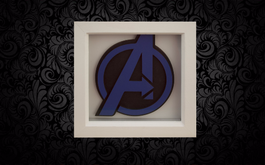 Avengers 3D Box Frame Wall Art