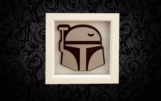 Boba Fett 3D Box Frame Wall Art