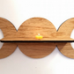 Oak Triple Goddess shelf - Pagan Witch - Sun Moon Goddess -  Wiccan
