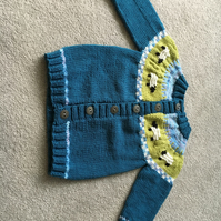 Soft and Cute Baby Cardigan - Spring Lambs