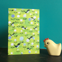 Magpie card by Jo Brown