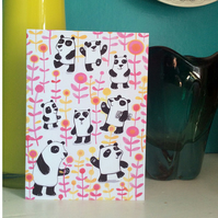 Panda Garden card by Jo Brown