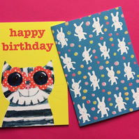 Pack of 2 Cards by Jo Brown