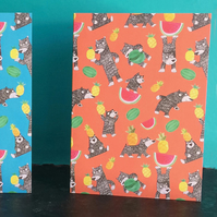 Bear Fruit card in Orange by Jo Brown