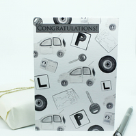 Passed Driving Test Card - Print From Original Hand Painted Illustrations