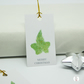 Botanical Ivy Christmas Tags Pack of 6