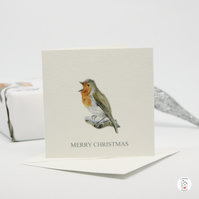 Mini Robin Christmas Card Trio Pack Hand Designed By CottageRts