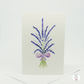 Lavender Watercolour Blank Greeting Card Hand Designed By CottageRts