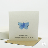Butterfly Greeting Card Hand Designed By CottageRts