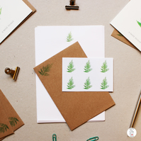 Fern Letter Writing Set Stationery Set Christmas Gift By CottageRts