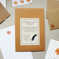 Maple Leaf Letter Writing Set With Stationery Wallet