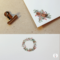 Christmas Letter Writing Paper - Christmas Writing Set - By CottageRts