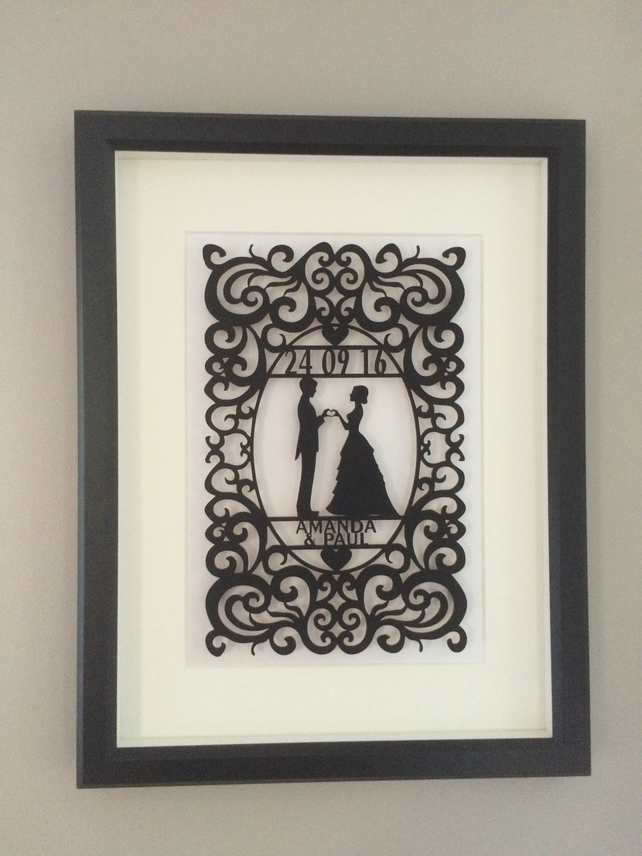 Wedding gift personalised