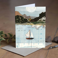 Two Drifters off to see the world - Wedding Card