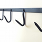 Hand Forged Tangham 90cm Coat Rail with 6 fixed hooks