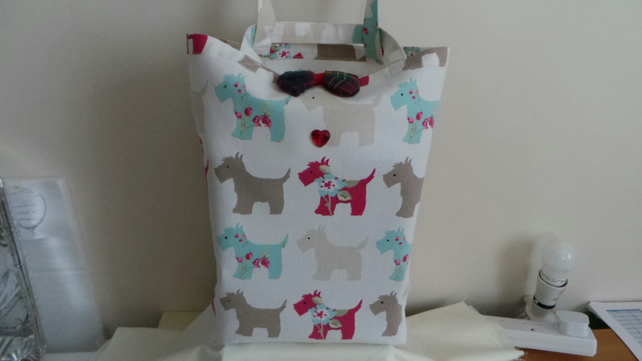 Scottie Dog Tote Bag.