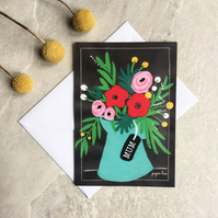 Mother's Day wild flower seed packet
