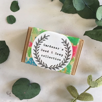 Handmade Soap & Wildflower Gardeners Seed Set