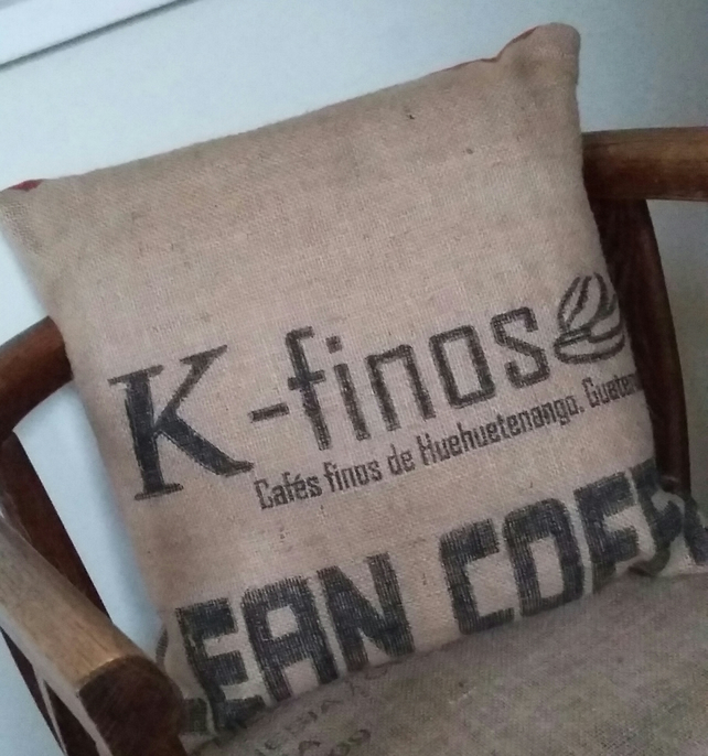 Coffee Sack Cushion