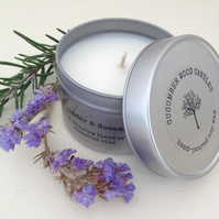 Lavender & Rosemary Soy Wax Candle - 90g