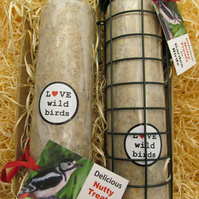 Christmas present gift hamper bird feeder for Him Her Mum Dad Gran Grandad