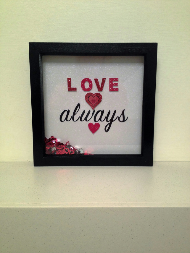 Love Always Box Frame