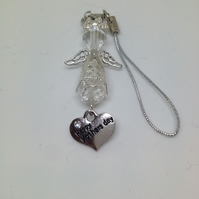 Happy Mothers Day Angel Charm