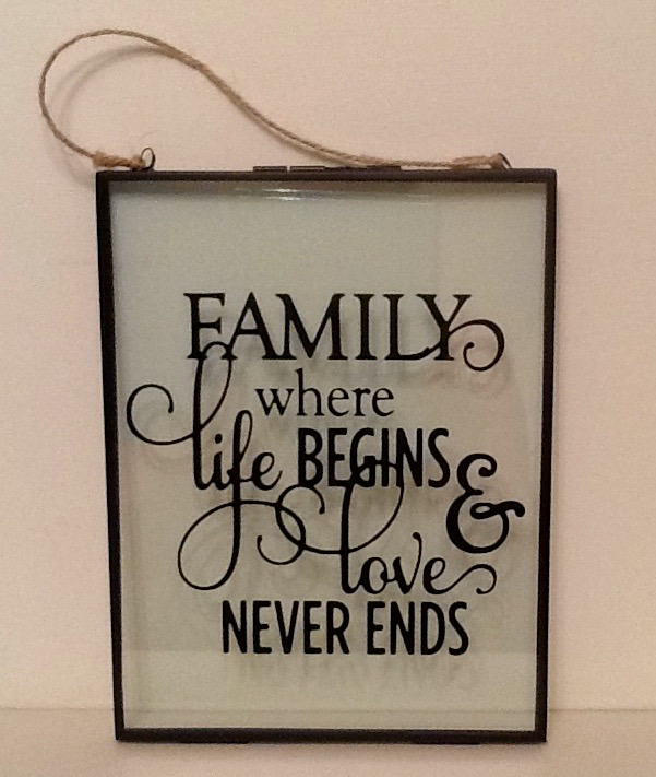 Family Quotation Frame