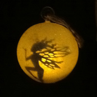 Fairy tea light hanging bubble