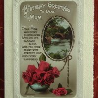 Original Edwardian Birthday Greetings made up to date!