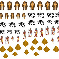 Egypt  Nail Decals